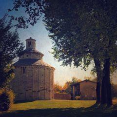 bergamo italy church romanesque shotoniphone