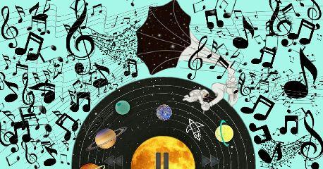 freetoedit record galaxy music vinylremix
