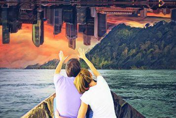 rowboatremix freetoedit city cityscape nature