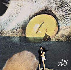 freetoedit blending magic catspaw coupleinlove