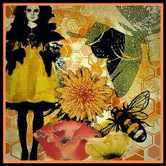 freetoedit fashionflowers busybees flowerstickers