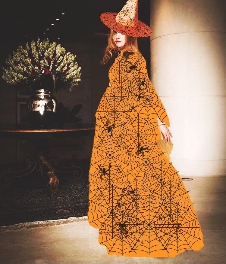 #freetoedit #halloween #witchhat #costume #witchcostume #spiderweb #spider #art #madewithpicsart #dramaeffect #orange #picsart #fundfairvip #fundfair