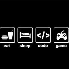 eat sleep code game freetoedit