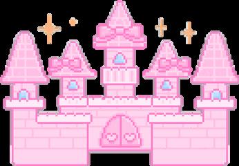 castle pink tumblr freetoedit