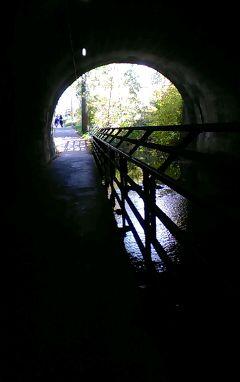photography nofilter dark tunnel freetoedit