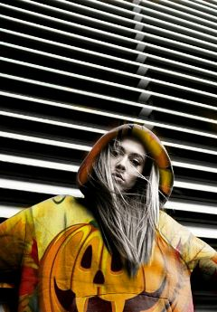 freetoedit woman jacket fashion halloween