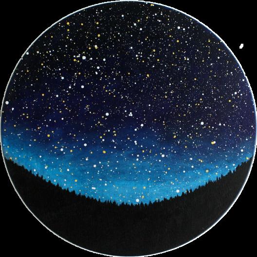 circle galaxy tumblr - Sticker by cornynmyg🌙