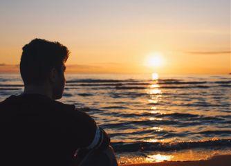 sunset beach photography nature peace freetoedit