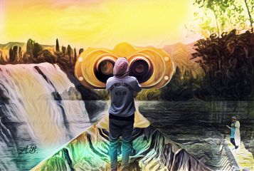 freetoedit binocularremix editedbyme magiceffectsandmaskeffect magical