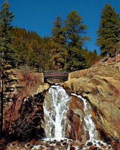 freetoedit nature waterfall trees scenic