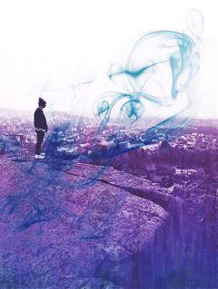 freetoedit blue purple starwars boy