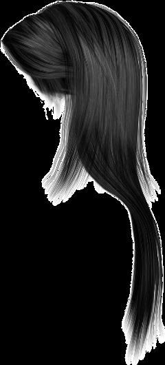 black hair longhair female freetoedit
