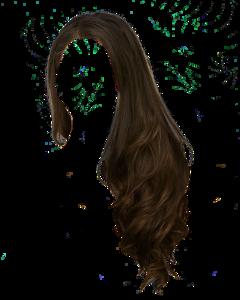 hair brown curls freetoedit