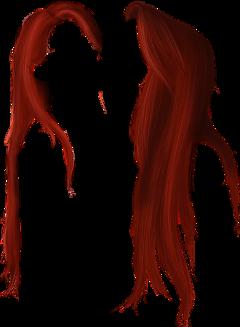 hair redhair red ariel mermaid freetoedit