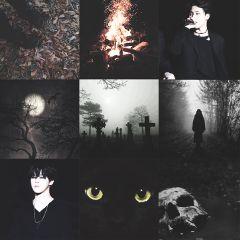 bts jimin black halloween waphalloweencollage