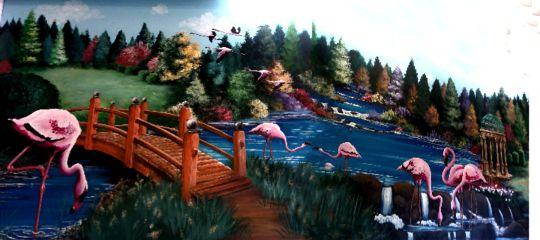 freetoedit flamingos river bridge myedit