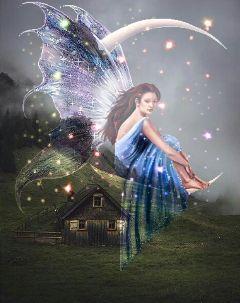 freetoedit fairy stars mystical