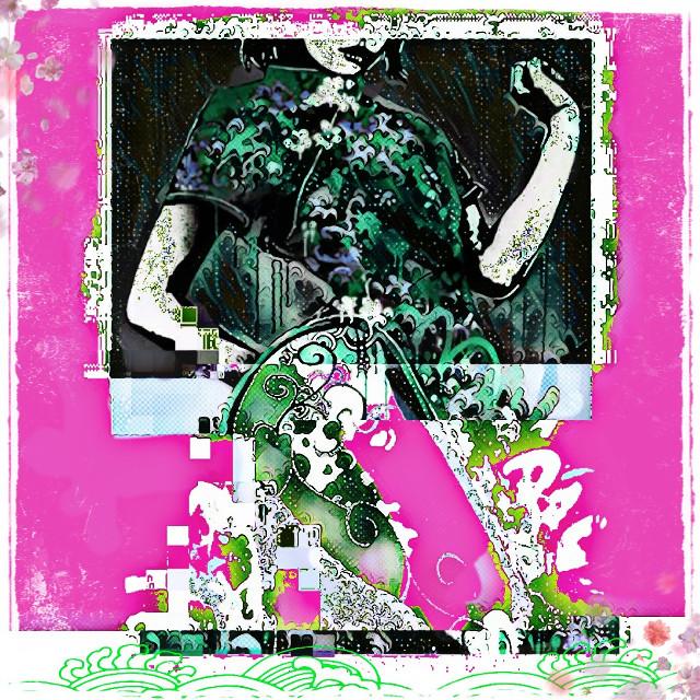 #copyright#remix#streetart#geisha