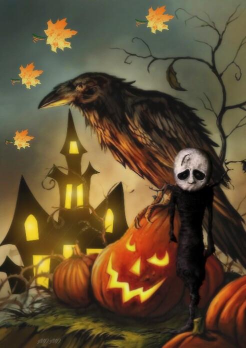 #hauntedhousestickerremix