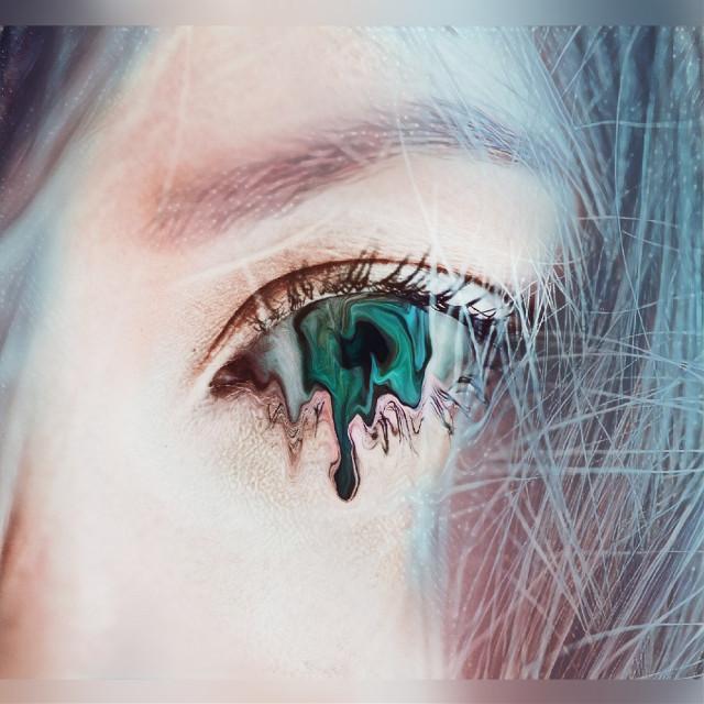 #eye#popart#people#photography#blue eyes#fteeyes#galaxy#galaxymagiceffect#moonlightmagiceffect#warped#broken