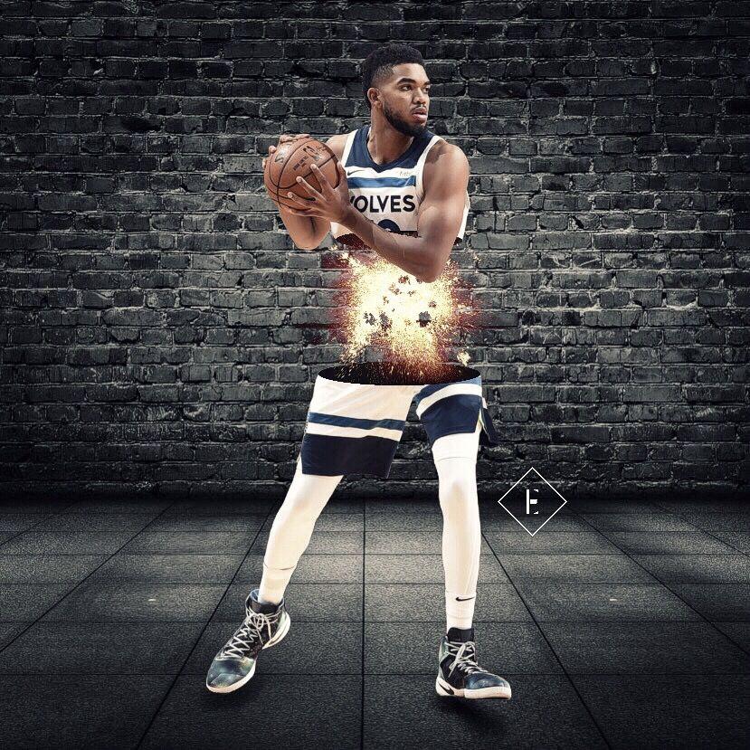 Karl-Anthony Towns' energy (part 1) #madewithpicsart #freetoedit #minnesota #usa #nba #basketball #picsart #art #nbaedits #design #today #wednesday #sports #f4f #follow4follow