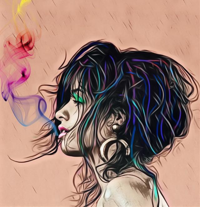 #freetoedit #smoke #beauty