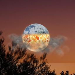 freetoedit moon foolmoonremix