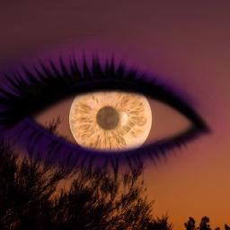 freetoedit eye auge fullmoon