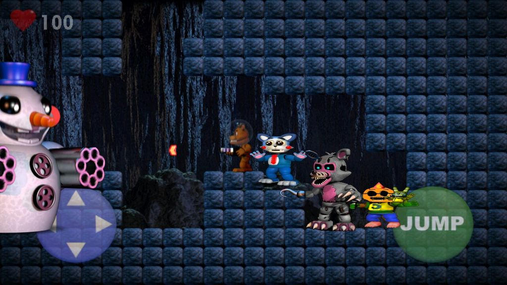 fnaf world upd 3 - Image by funtime bonnie