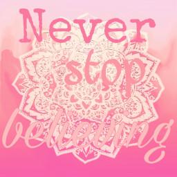 freetoedit neverstopbelieving pink mandala