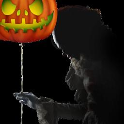 pumpkinstickerremix pumpkin pennywise2017 it freetoedit