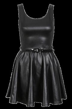 dress clothes black leather freetoedit