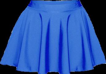 dress clothes skirt blue freetoedit