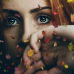 freetoedit flower rainbow eyes eyesrainbow