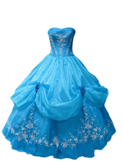 dress clothes gown blue royal freetoedit