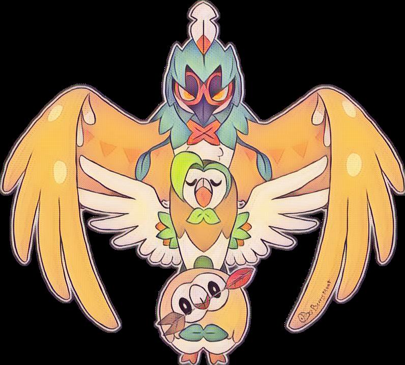 Pokemon Pokémon Brindibou Effleche Archeduc Sun Moon