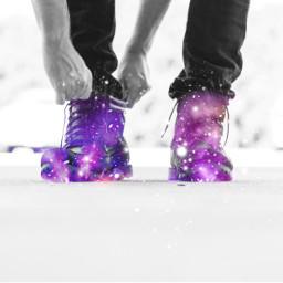 magic magicboots galaxyboots galaxy glitter freetoedit