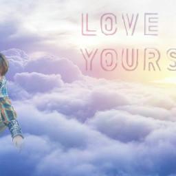 v bts loveyourself freetoedit