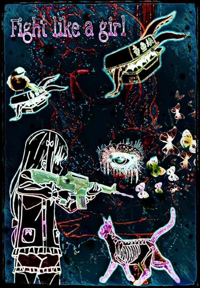 #girlfriend#powerupwomen#collage
