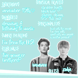 jeonwonwoo wonwoo seventeen svt baekzuho zuho baekjuho juho sf9 kpop