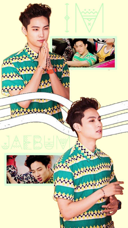 Got7 Jb Im Jaebum Just Right Wallpaper Yellow Green Gif