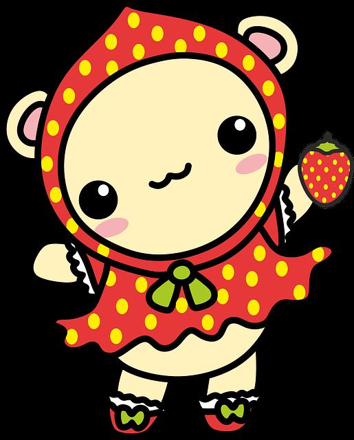 #Kawaii #bear #cute #animal