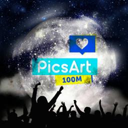 picsart picsart100million congratulations awesome madewithpicsart wappicsart100million freetoedit