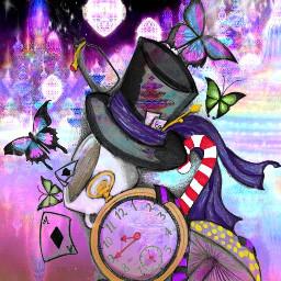freetoedit butterflies hat pocketwatch starlightmask