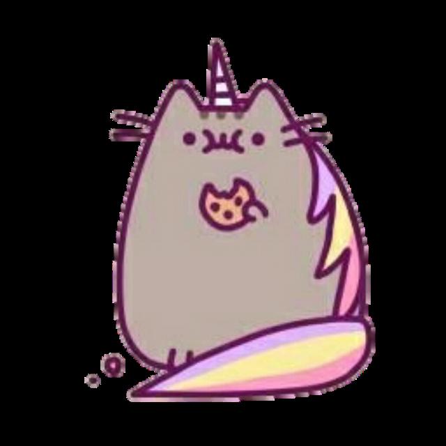 #pusheen#pet#cat#kawaii#cute#unicorn#magic#food#sticker#stickerart#rainbow#freetoedit#remixit#tumblr