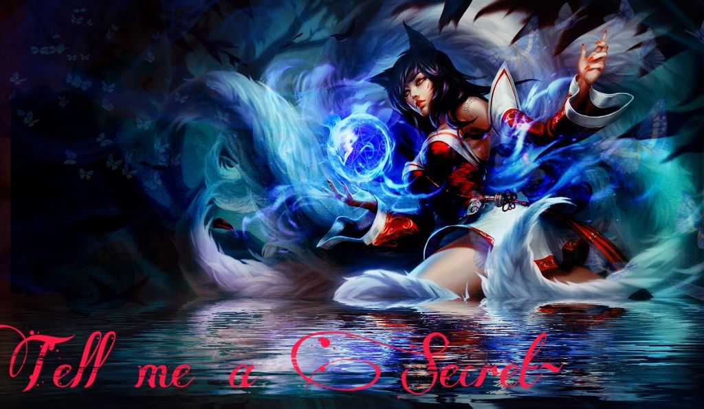 Im really bored leagueoflegends ahri kitsune anime
