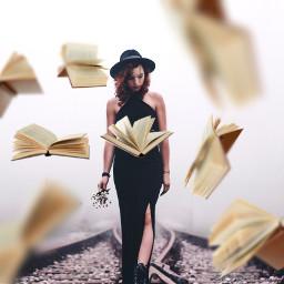 freetoedit levitate books flyingbooks interesting