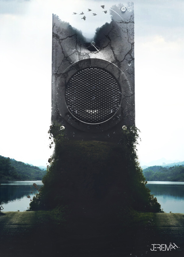 #freetoedit #forest #mountain #paths #vines #photography #lake #nature #speaker #texture #cracked #birds #doubleexposure #doubleexposureeffect #moody #view #travel #landscape #fog @jeremundo @pa @freetoedit