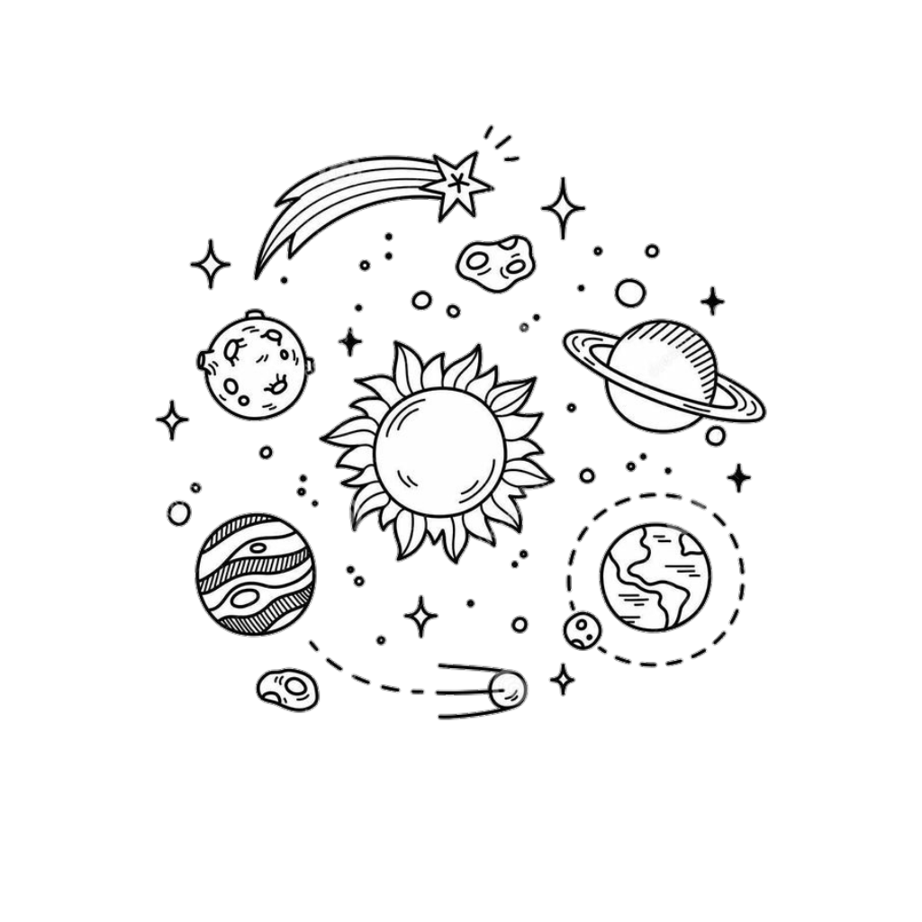 star space drawings - HD1024×1024