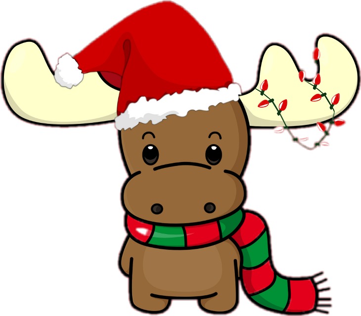 #christmas #colorful #reindeer #cute